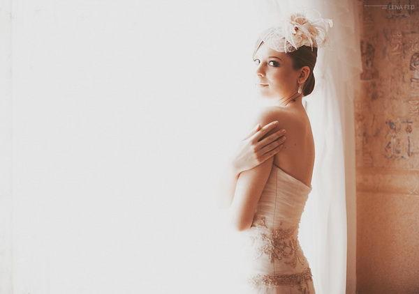 стильный образ невесты