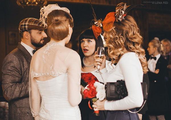 свадьба в шотландском стиле