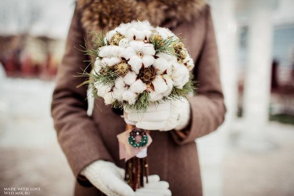 Букеты невесты зима, подарить букет ко дню рождения