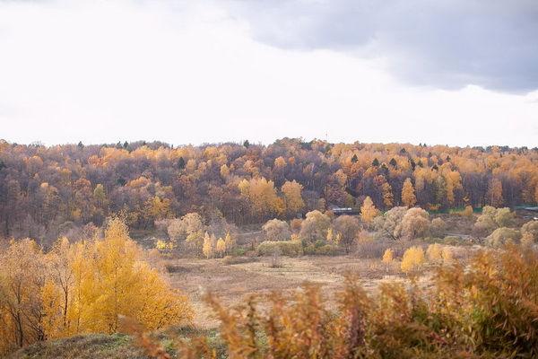 фотосессия осенью на природе