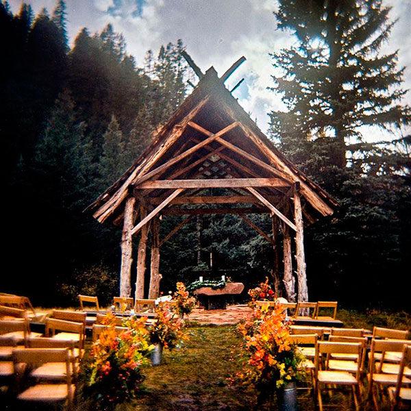 свадьба в домашнем стиле