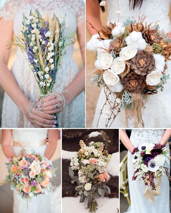 свадебные букеты 2015