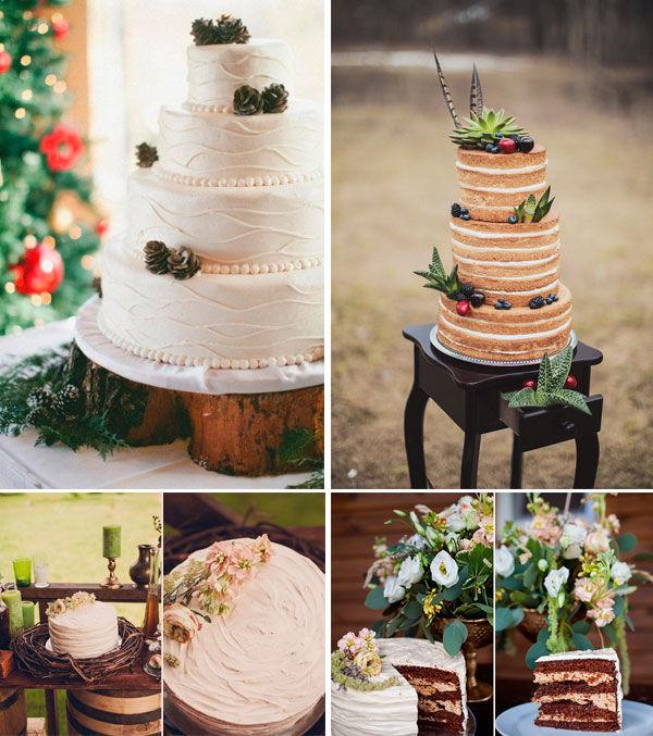 свадебные торты 2015