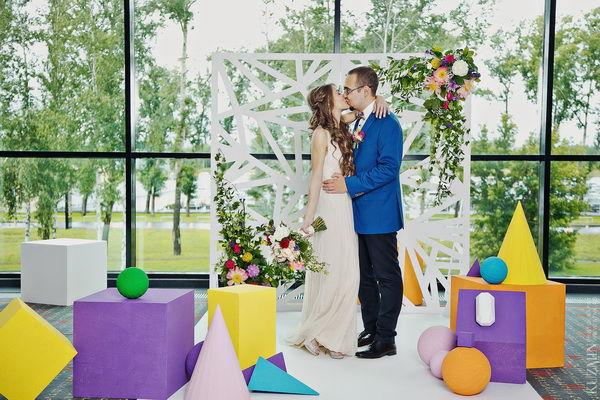 свадебная цееремония декор