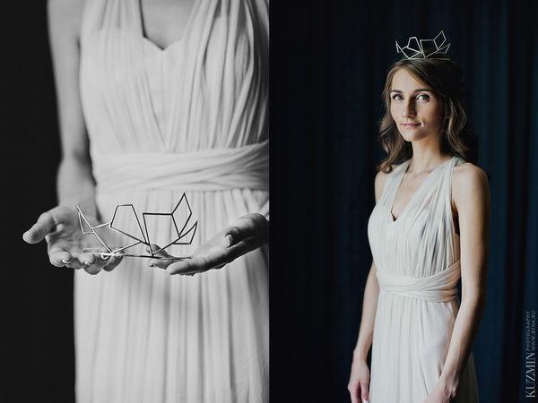 свадебный обрз невесты