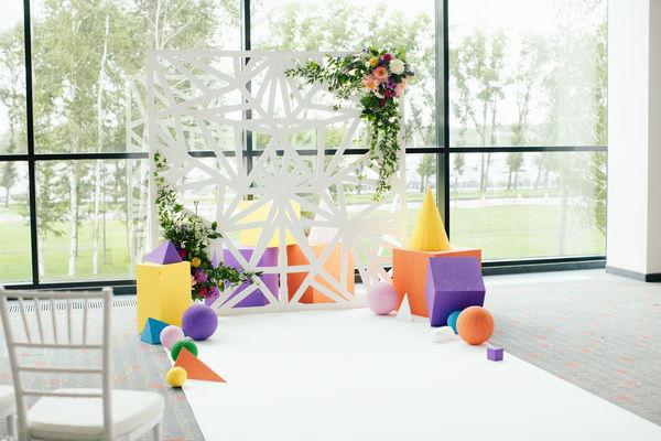 зона для свадебной церемонии