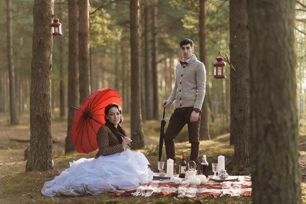 идеи для фотосессии в лесу