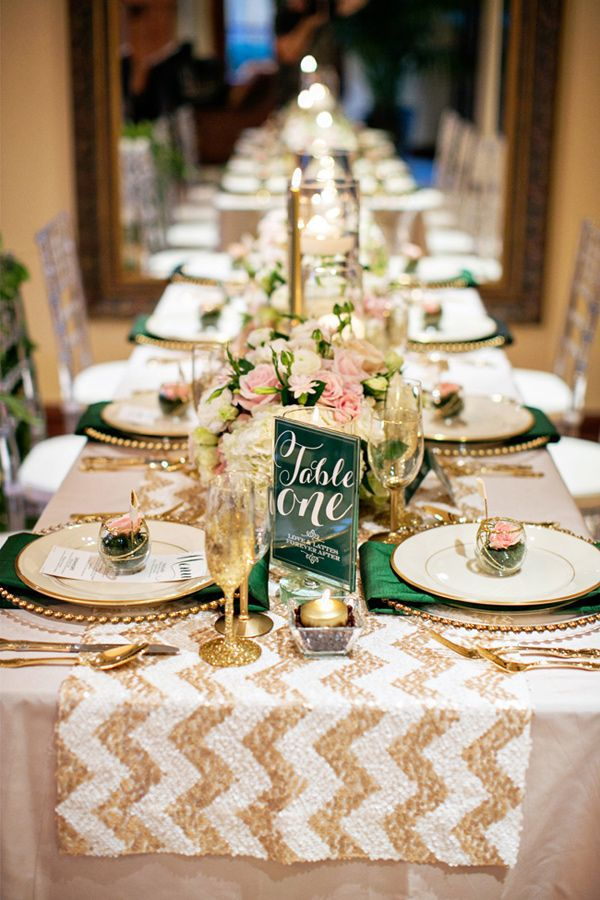золотой цвет свадьбы