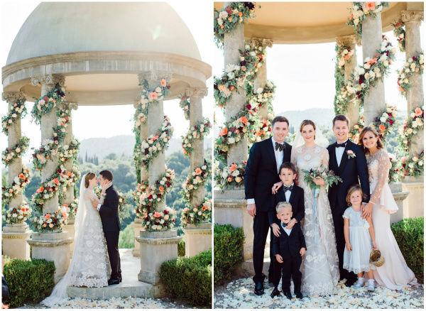 Свадьба на Лазурном берегу декор
