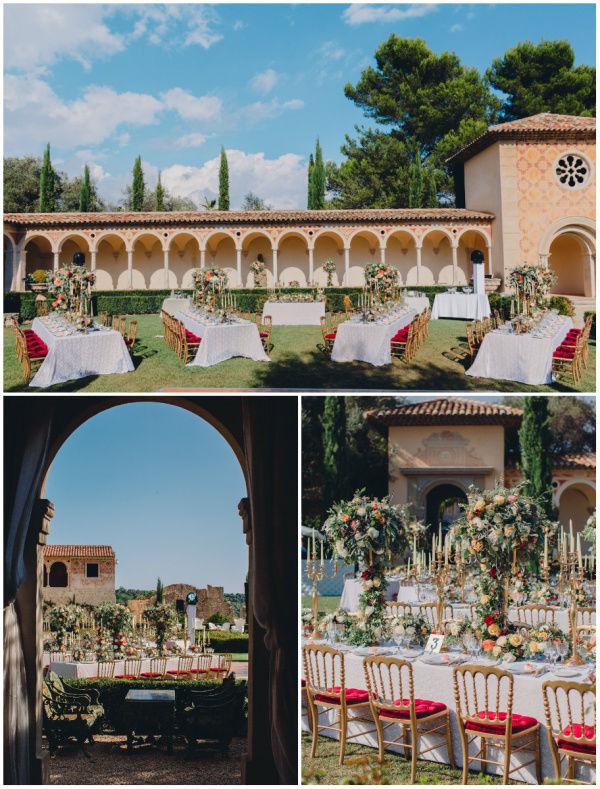свадьба в шато