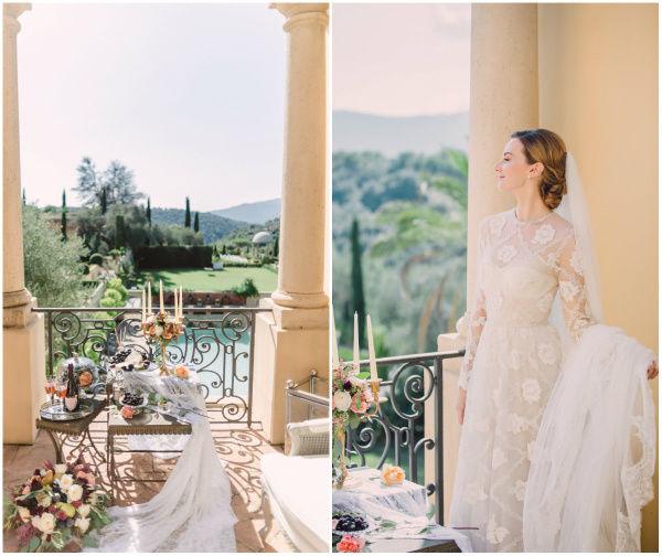 образ невесты в винтажном стиле
