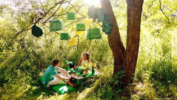 лесной декор