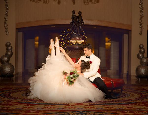 тематика свадьбы балет
