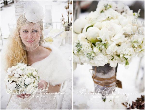тема зимней свадьбы