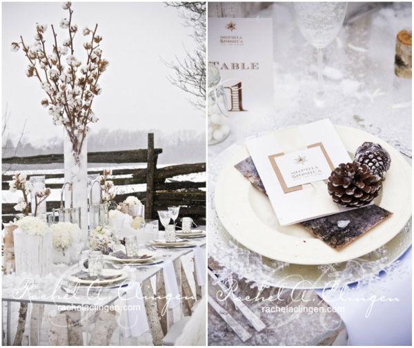 тематика зимней свадьбы