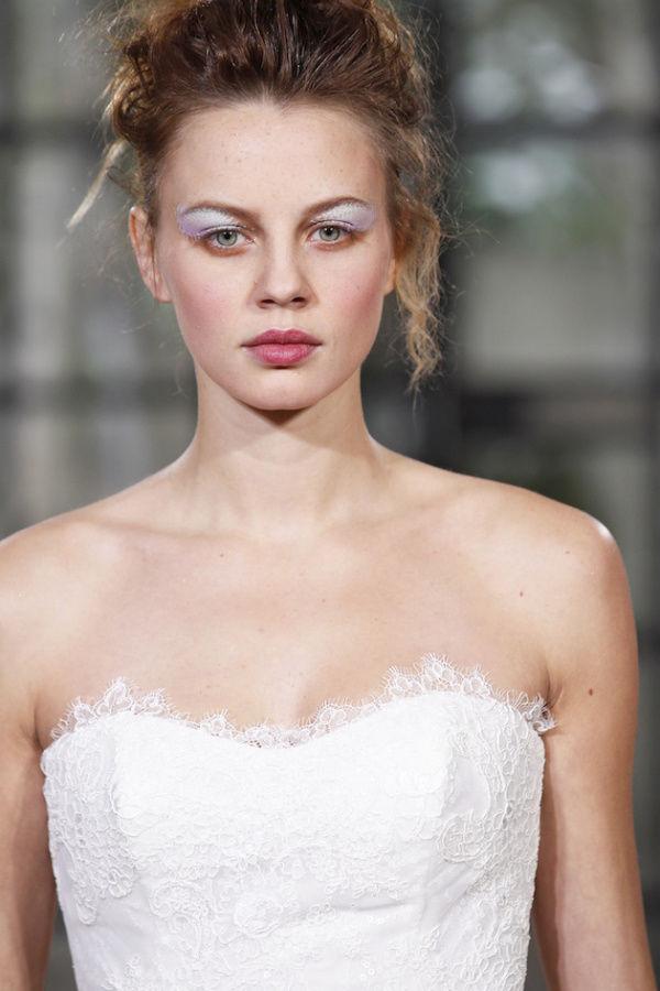 тени металлик для невесты