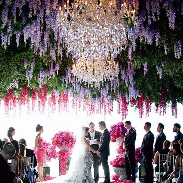 свадьба в ярком цвете