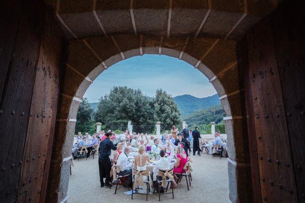свадебное торжество на вилле
