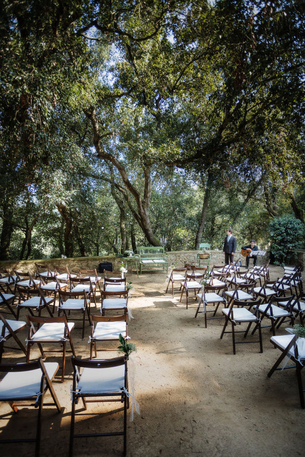 церемония под деревом