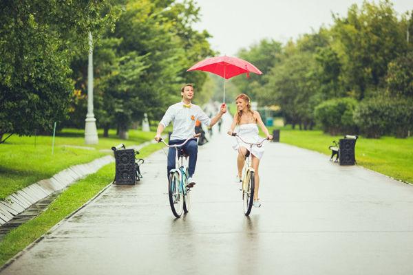 велосипед на свадьбу
