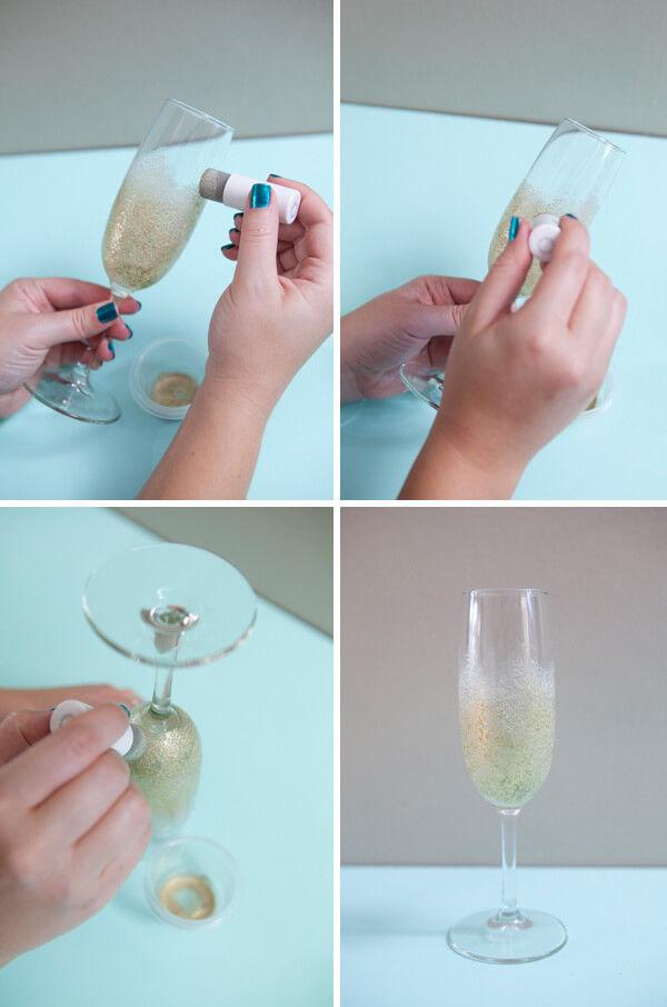 сделать бокалы своими руками