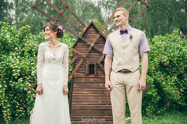 свадебная церемония прованс