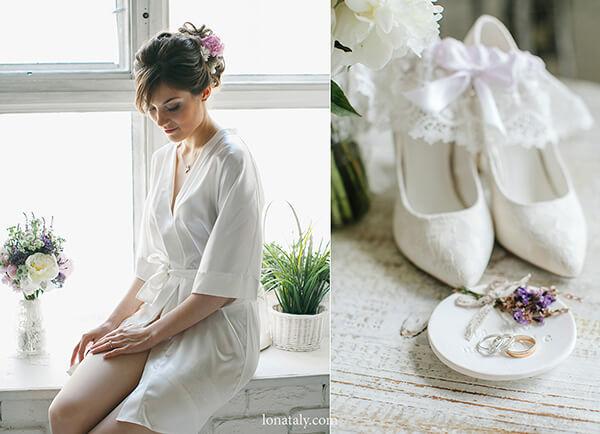свадебный стиль прованс