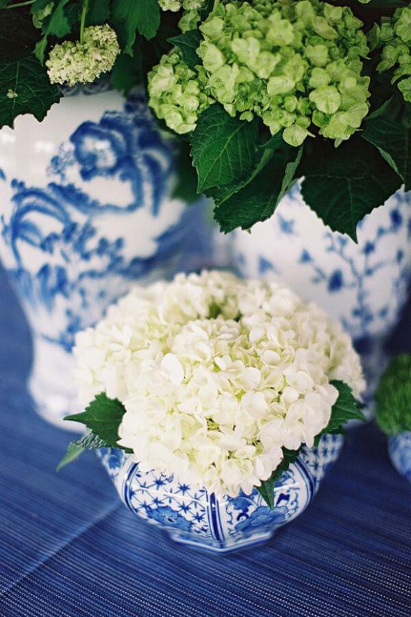 синий фарфор свадьба