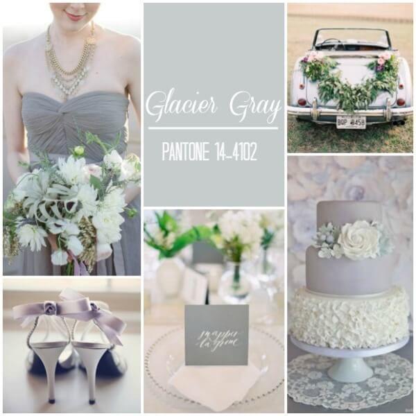 светлый серый свадьба