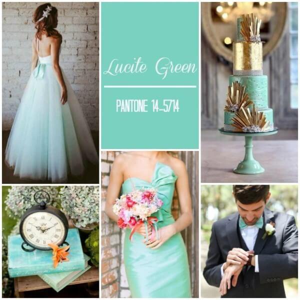 мятный цвет свадьбы