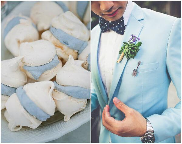 Аквамарин как цвет свадьбы