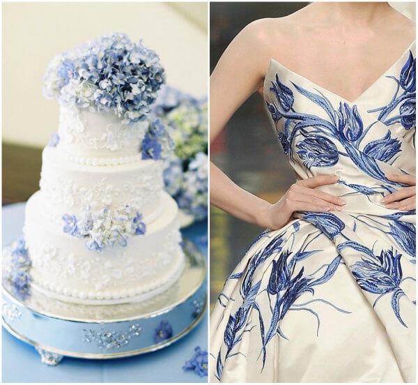 свадьба гжель