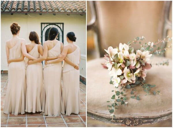 бежевый цвет свадьбы