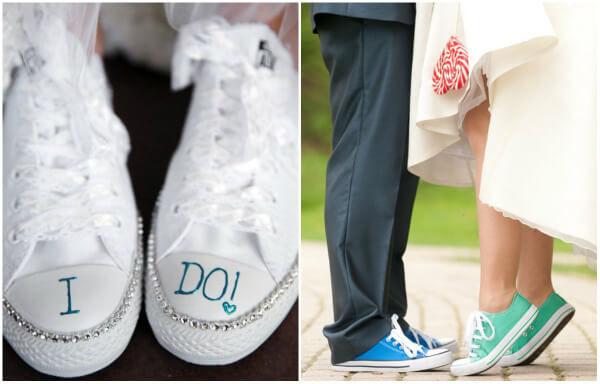кеды на свадьбу