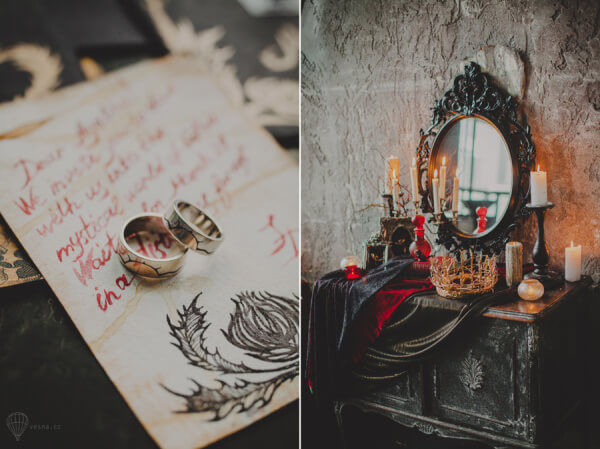 Свадьба в готическом стиле оформление