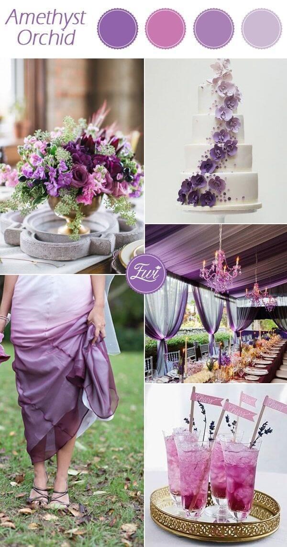 цвет свадьбы осенью 2015