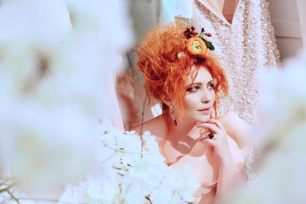 образ невесты высокая мода