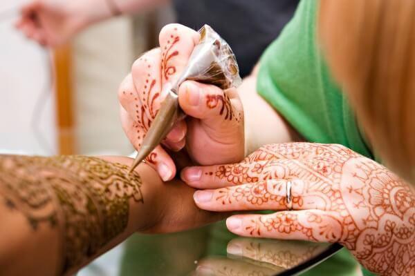 мехенди на свадьбе