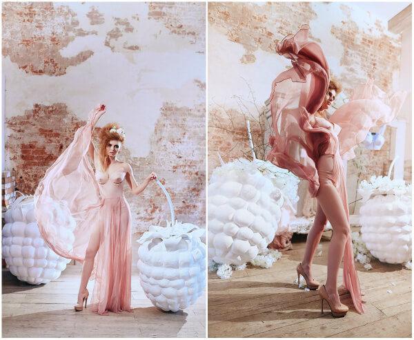 Авторская свадьба мода