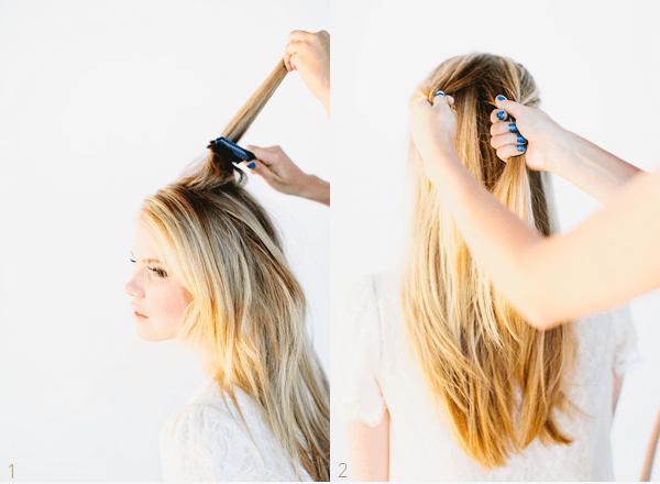 как делать косу рыбий хвост