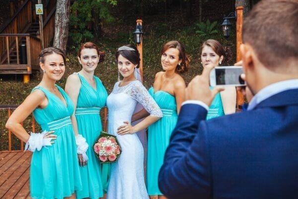 свадьба в стиле тиффани фото реальные