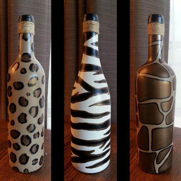 бутылки на свадьбе