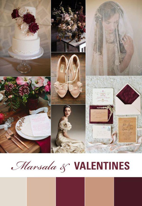 приглашения на свадьбу марсала