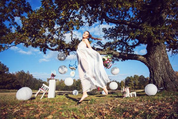 образ невесты лето фото