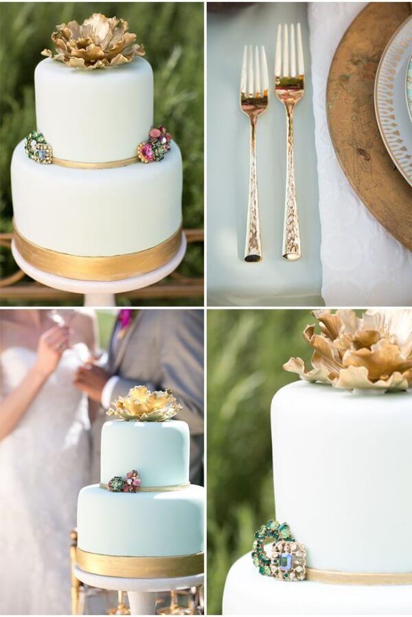 свадебный торт винтаж