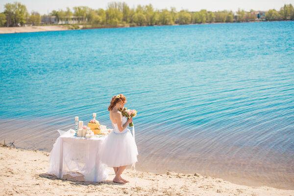 утро невесты в день свадьбы