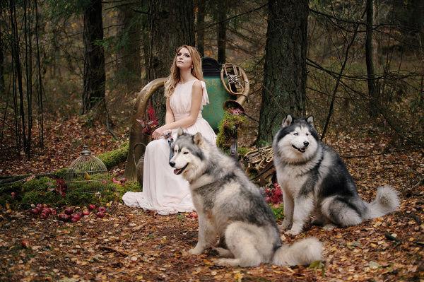 стильный образ невесты 2015