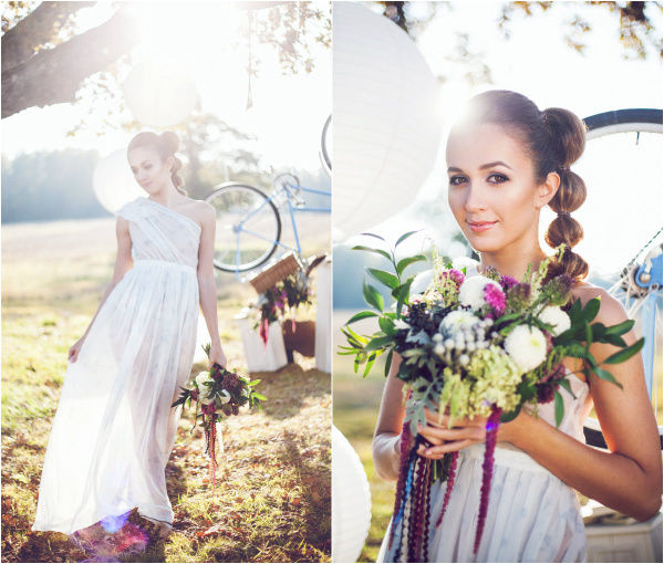 милый образ невесты