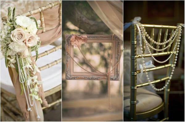 жемчуг на свадьбе