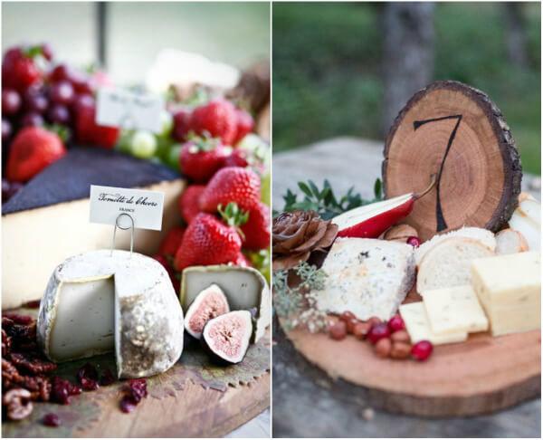 красивая сырная нарезка на стол